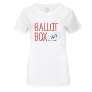 TeeShirt design for BallotBox.info Ballot Box Service